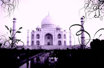 Taj+Mahal big Monuments in a different taste