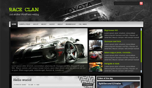 Race+clan Huge Compilation of Best Blogger Templates Released in 2010 | Blogspot Toolbox