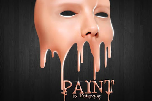 Create+a+Face+Paint+Dripping+Effect 75+ Fresh Photoshop Tutorials From 2010