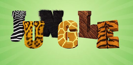Jungle+3D+text+in+Photoshop 75+ Fresh Photoshop Tutorials From 2010