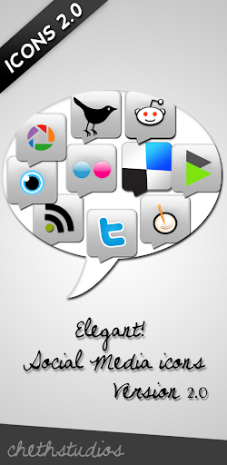 Elegant+icons+version2 Elegant Social Media Icons Version 2.0