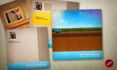 Zidalgo Twitter Theme Pack 001 by Deluxive
