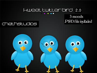 kweet+release+image Kweet Twitter Bird [updated with 3 variations]
