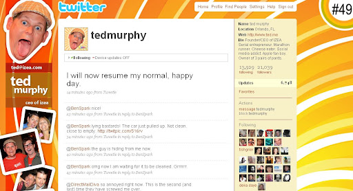 tedmurphy 100+ Incredible Twitter Backgrounds