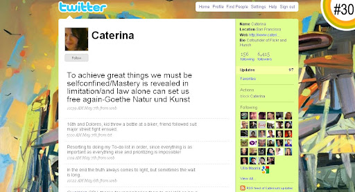 Caterina 100+ Incredible Twitter Backgrounds