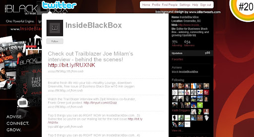 InsideBlackBox 100+ Incredible Twitter Backgrounds