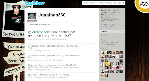Jonathan360 100+ Incredible Twitter Backgrounds
