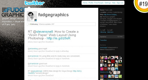 fudgegraphics 100+ Incredible Twitter Backgrounds