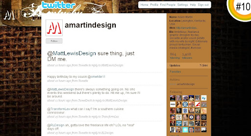 amartindesign 100+ Incredible Twitter Backgrounds
