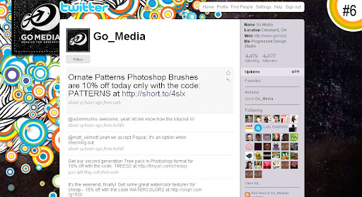 Go Media 100+ Incredible Twitter Backgrounds