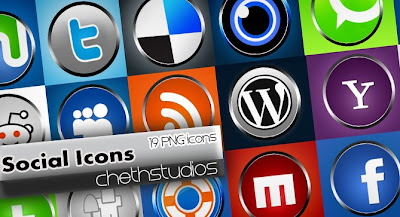 Social Icons -knobs