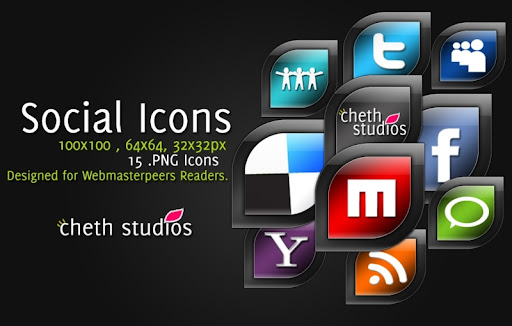 Screenshot Social Network Icons Reloaded