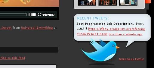 larissameek Creative Twitter Status Designs