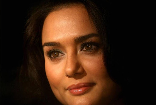 Preity Zinta bollywood actress Twitter profile
