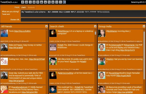 dark+orange Gorgeous TweetDeck Color Schemes