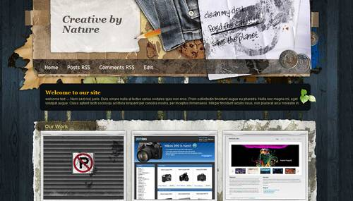 Creative by Nature 40+ New and Fresh Blogger Templates