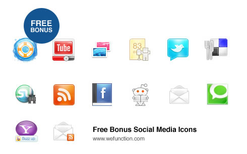 free+beautiful+social+icons+blogs+%289%29 Social Network Icons Reloaded