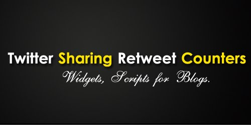Twitter+Sharing+Retweet+Counters 9 Useful Twitter Retweet Button Scripts For Blogs