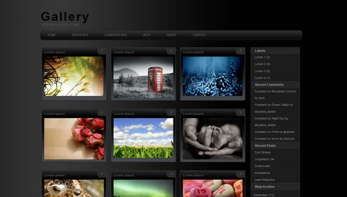 Gallery Mindblowing Premium Like Free Blogger Templates