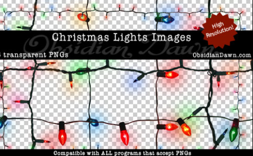 christmas Lights PNGs 106685197 Design + Christmas = oh my! Inspirational Resources!