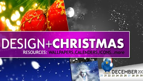 Design + Christmas = oh my! Inspirational Resources!