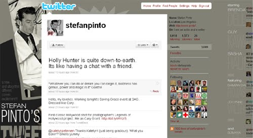 stefanpinto Inspiration Reloaded!   44 Best Twitter Background Themes