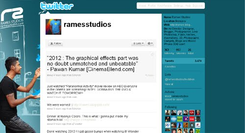 Ramesstudios Inspiration Reloaded!   44 Best Twitter Background Themes