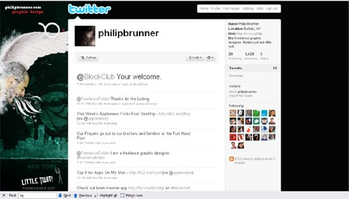 philipbrunner Inspiration Reloaded!   44 Best Twitter Background Themes