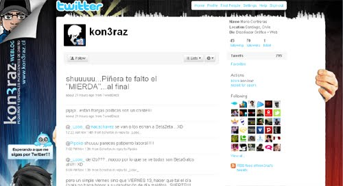 kon3raz Inspiration Reloaded!   44 Best Twitter Background Themes
