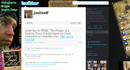 joshself Inspiration Reloaded!   44 Best Twitter Background Themes