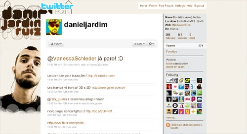 danieljardim Inspiration Reloaded!   44 Best Twitter Background Themes