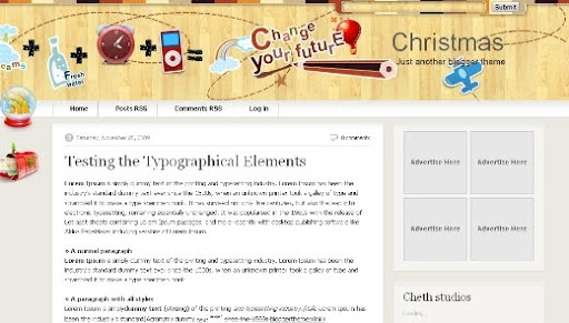 christmas+premium+like+blogger+template Christmas V2.0   A Premium Like Blogger Template