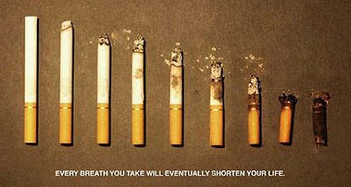 Smoking+Shortens+Life 65 Creative Anti Smoking Ad Campaigns Dedicated to World No Tobacco Day