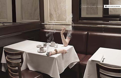 smoking+hand+2 65 Creative Anti Smoking Ad Campaigns Dedicated to World No Tobacco Day