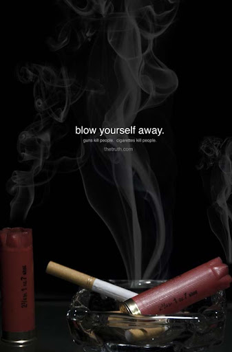 Blow+yourself+away 65 Creative Anti Smoking Ad Campaigns Dedicated to World No Tobacco Day