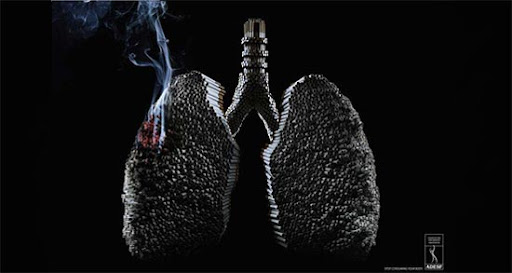 Cigarettes+Lungs 65 Creative Anti Smoking Ad Campaigns Dedicated to World No Tobacco Day