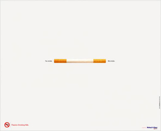 Passive+smoking+Cigarette 65 Creative Anti Smoking Ad Campaigns Dedicated to World No Tobacco Day