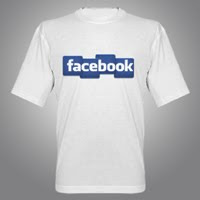 Facebook tee tshirts giveaway design