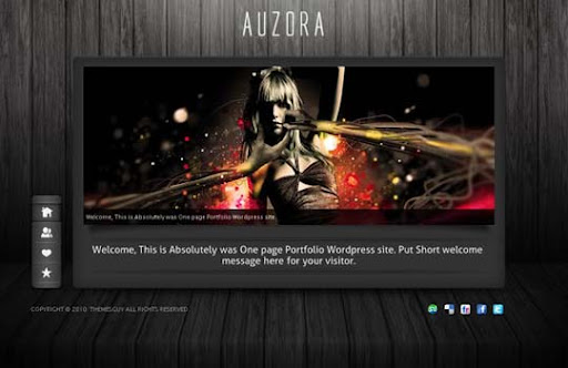 auzora Fresh Premium Wordpress Themes Designed in 2010