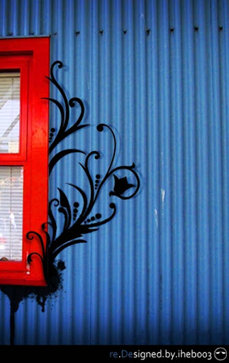 Blue Window by iheb003 Beautifully Blue: Color Photography Inspiration