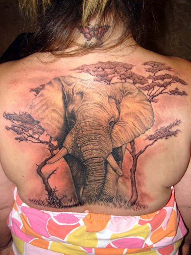 elephant tattoo finished by asuss06 Incredible Tattoo Designs and Body Art to Inspire You