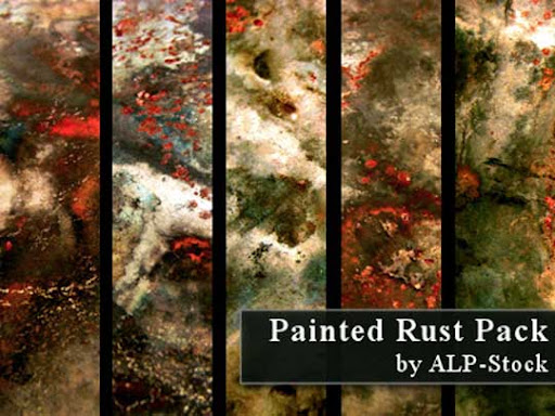 Painted Rust Pack by ALP Stock Free Rust Textures Every Designer Must Have | Stock Photography Resource