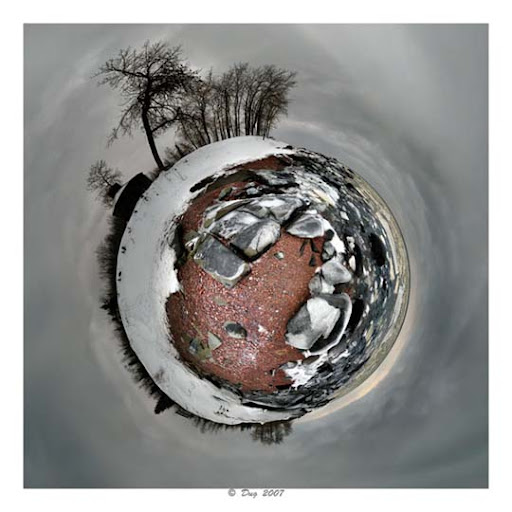 Planet+Winter Mesmerising Planet Panoramic Photography