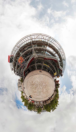 Planet Pompidou by markgreen Mesmerising Planet Panoramic Photography