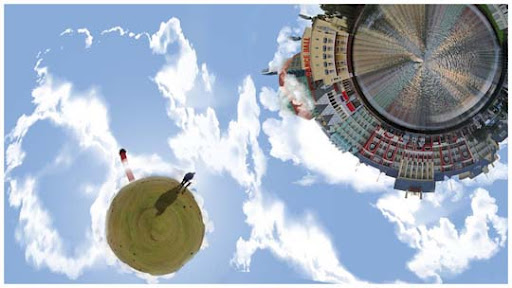 Mesmerising 360 Degree Panoramic Shots with  Stereographic Projection.