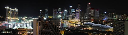 Singaporean Panorama by hariskalin Stunning Horizontal Panoramic Shots | Photography Inspiration