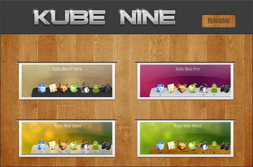 Kube Nine Reloaded by Delta909 30+ Fresh Dock Icons For Mac Customization