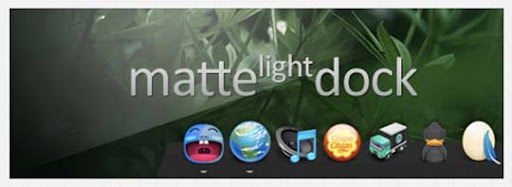 Matte Light Dock  by soydios 30+ Fresh Dock Icons For Mac Customization