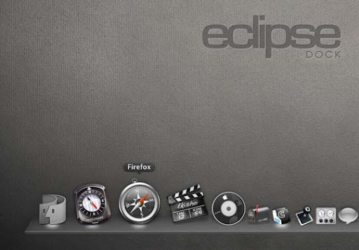 EclipseDock by hotiron 30+ Fresh Dock Icons For Mac Customization