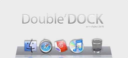 DoubleDOCK by art styles 30+ Fresh Dock Icons For Mac Customization